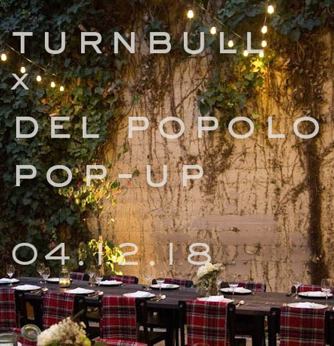 Turnbull x Del Popolo Pop-Up